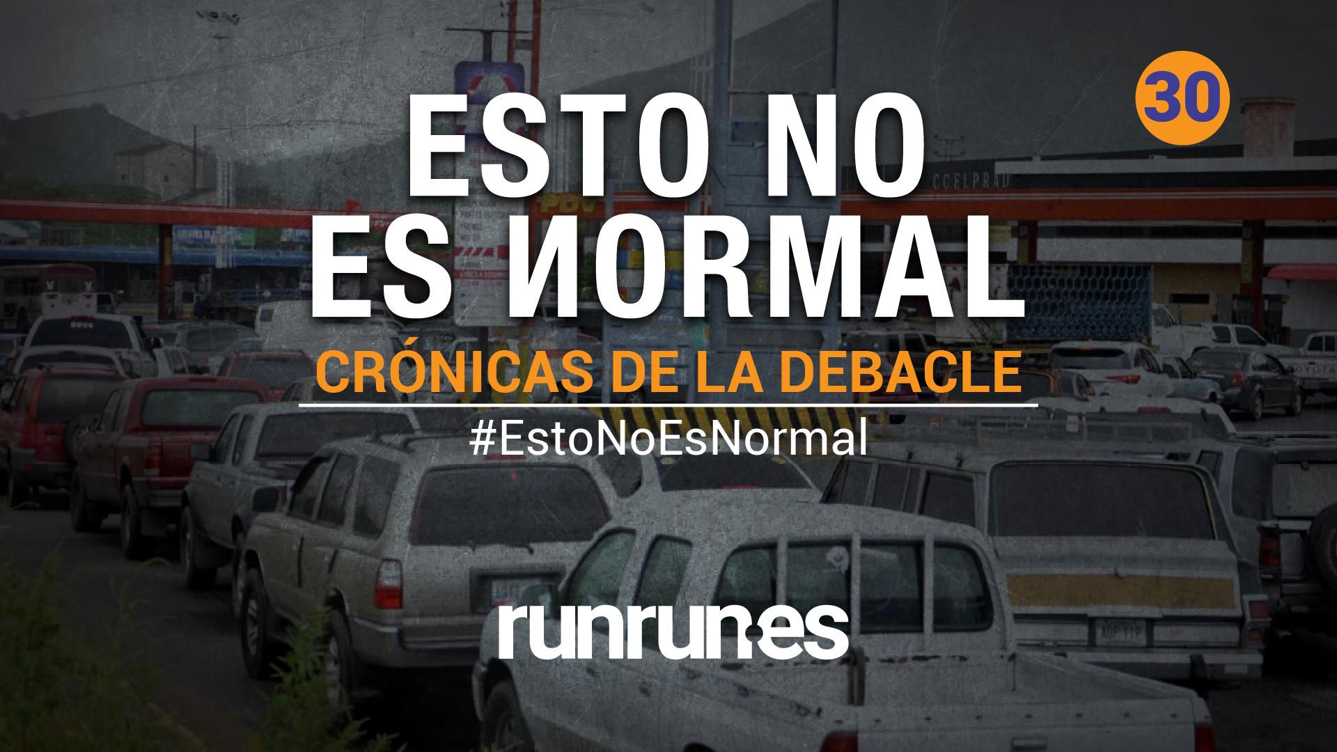#EstoNoEsNormal | La cola, el efectivo y el café