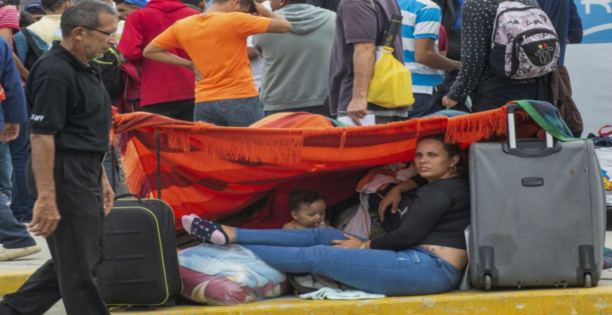 Rostros del éxodo venezolano sobresalen entre fotos del año de The New York Times
