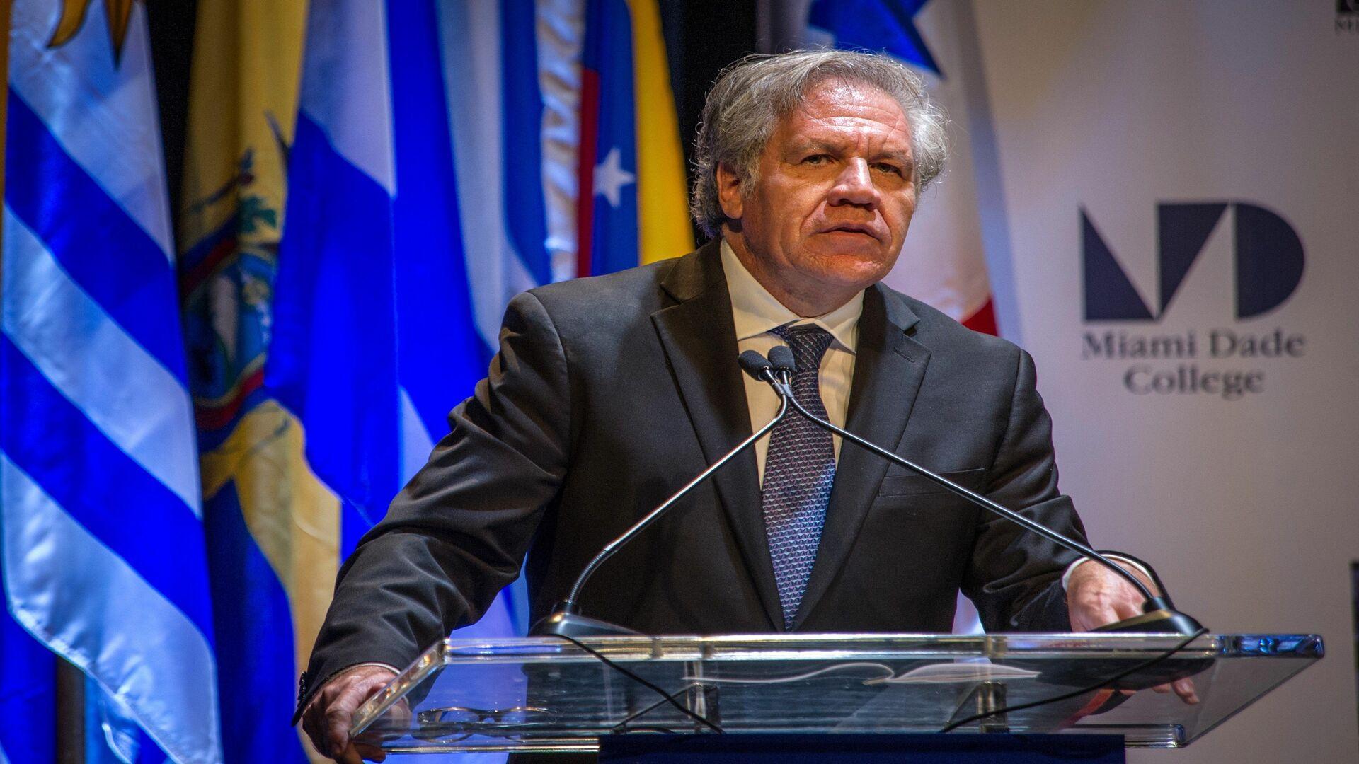 Estados Unidos respalda reelección de Luis Almagro en la OEA