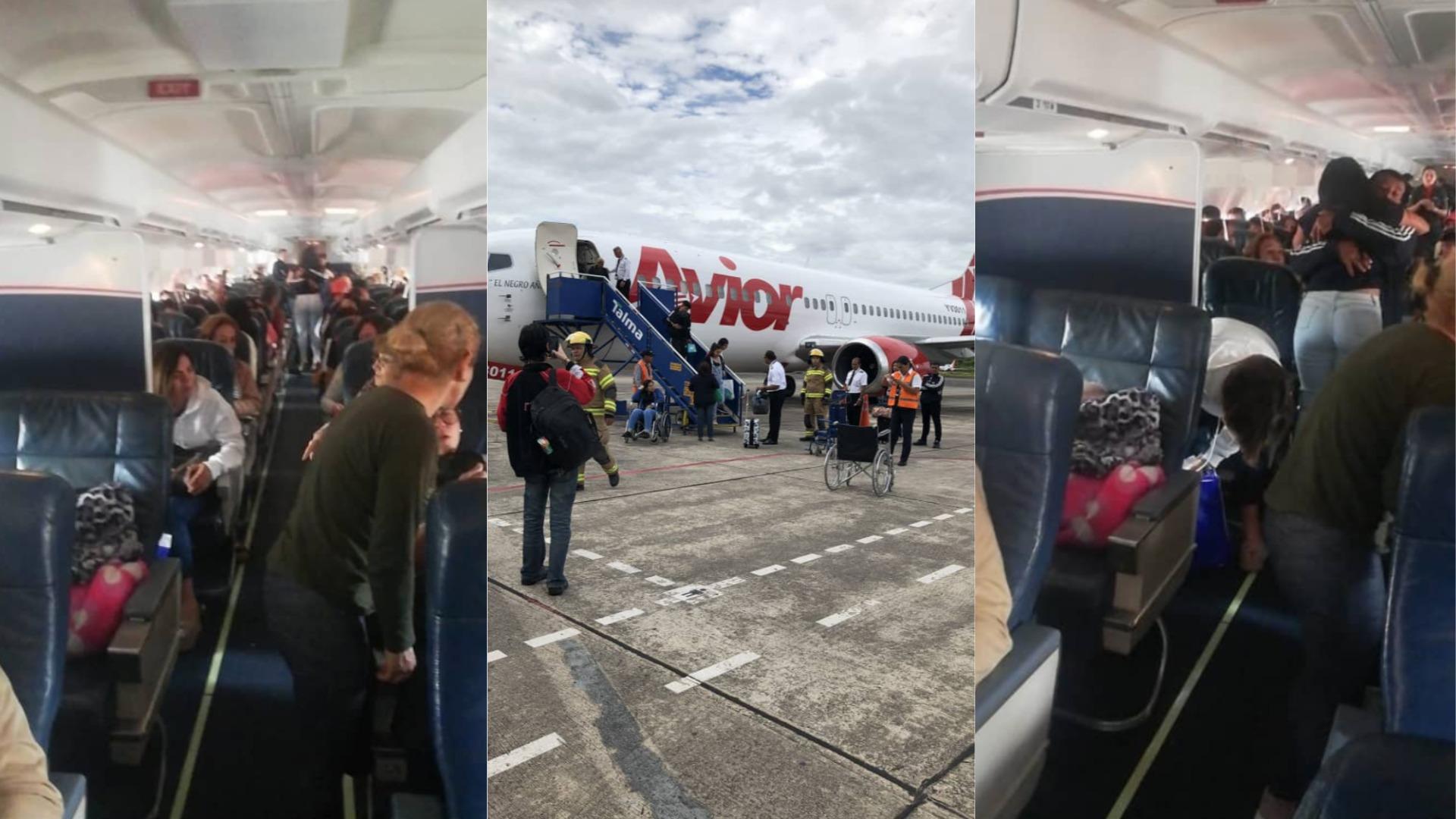 Avión de Avior aterriza de emergencia en aeropuerto de Perú