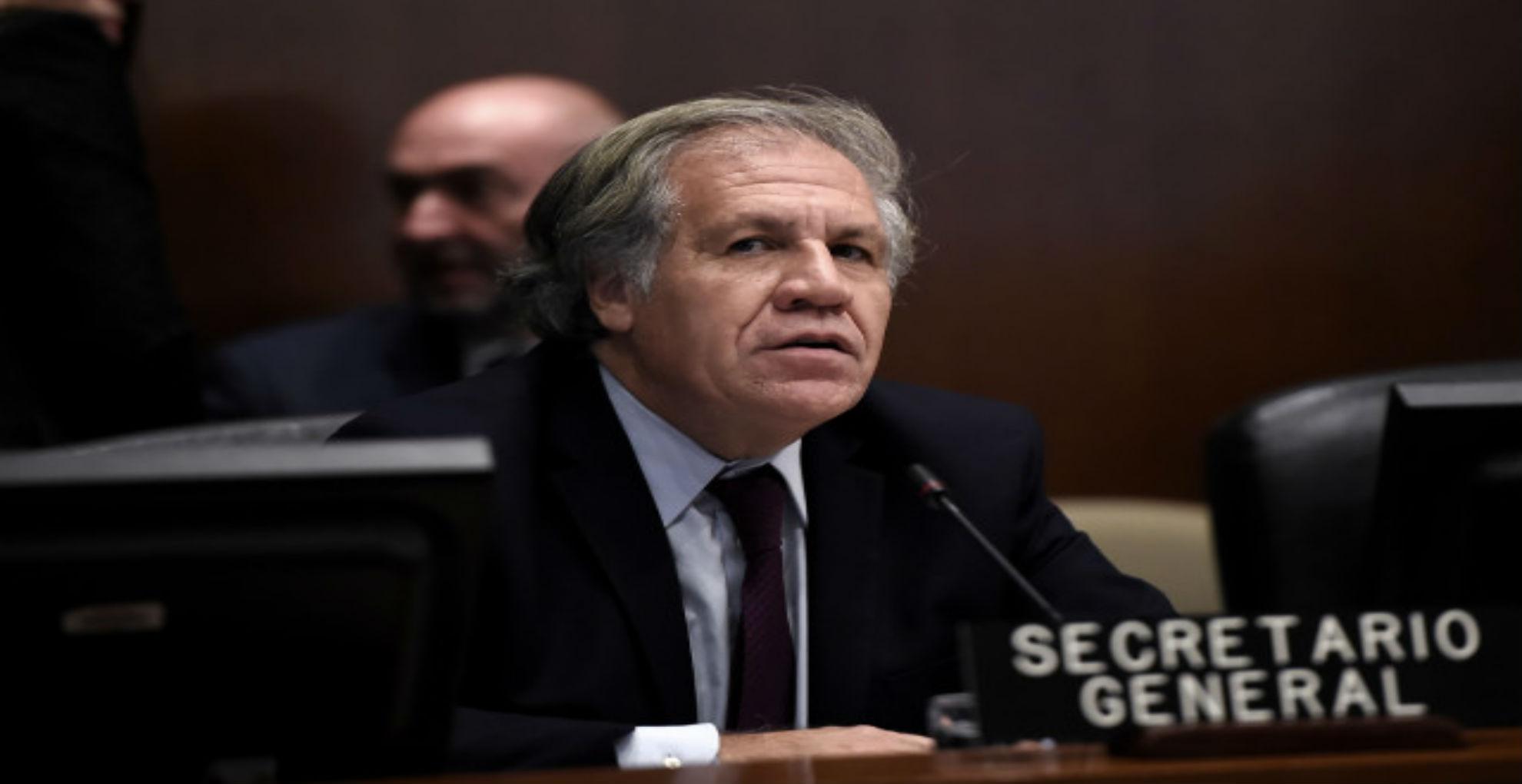 Almagro pidió defender la democracia de América Latina y en especial la de Venezuela