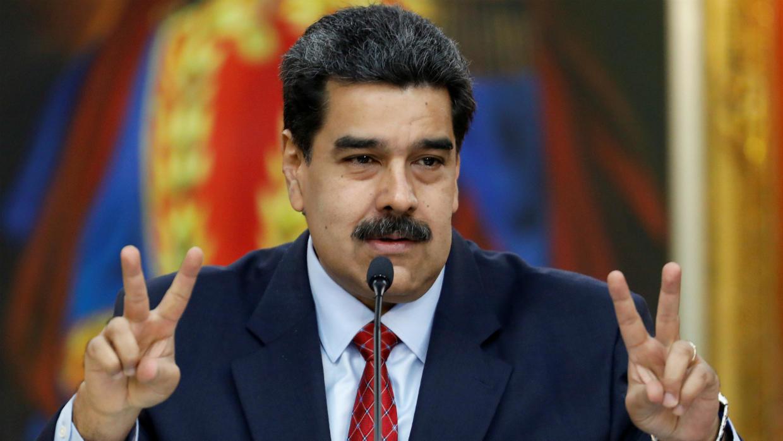 """Maduro: """"El día que los tribunales den el mandato de detener a Guaidó por todos los delitos que ha cometido, ese día va a la cárcel"""""""