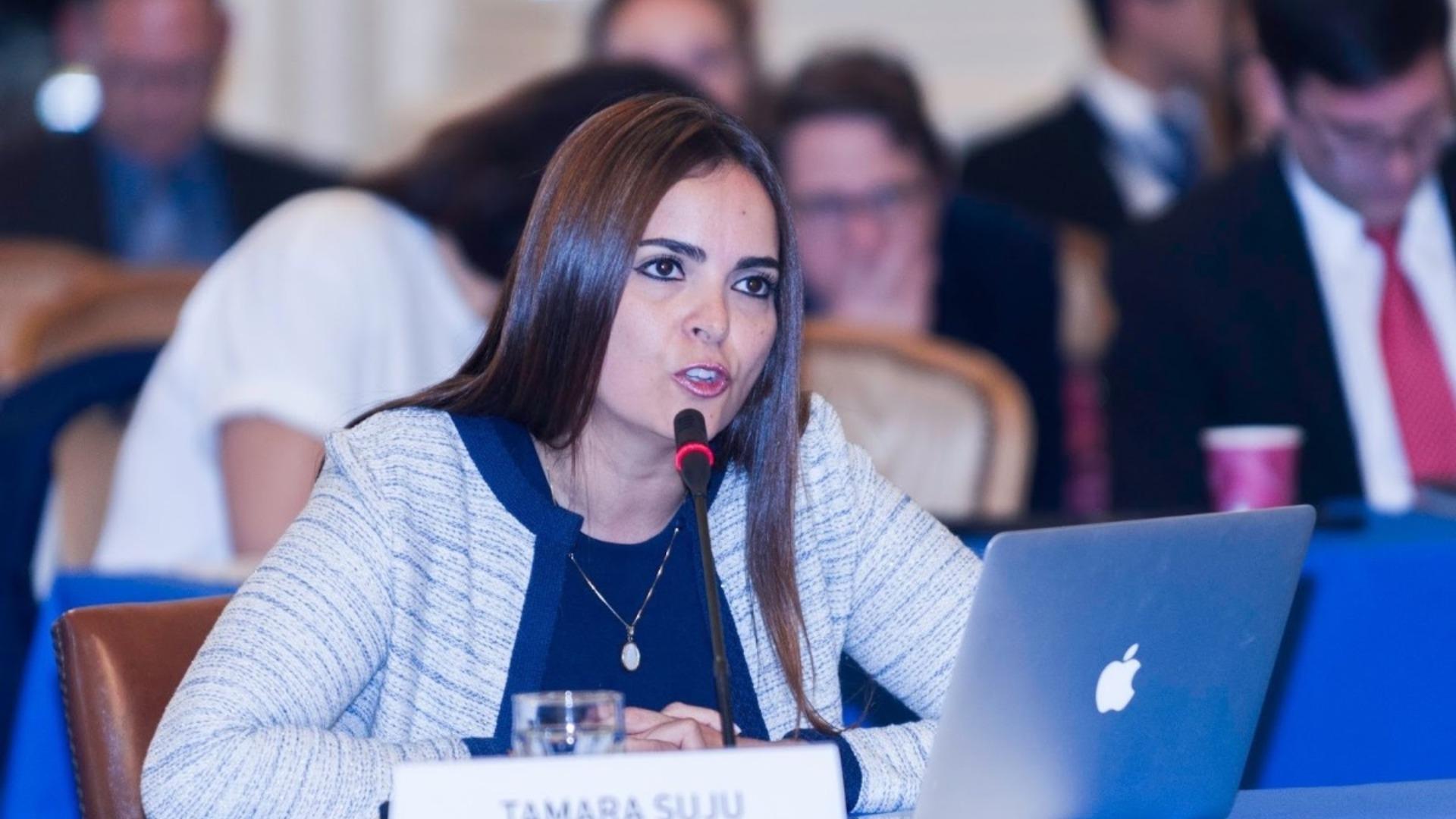 Tamara Sujú presenta ante la OEA informe de