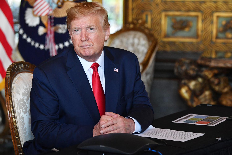 """Senado de EEUU leyó los cargos del """"impeachment"""" contra el presidente Donald Trump"""