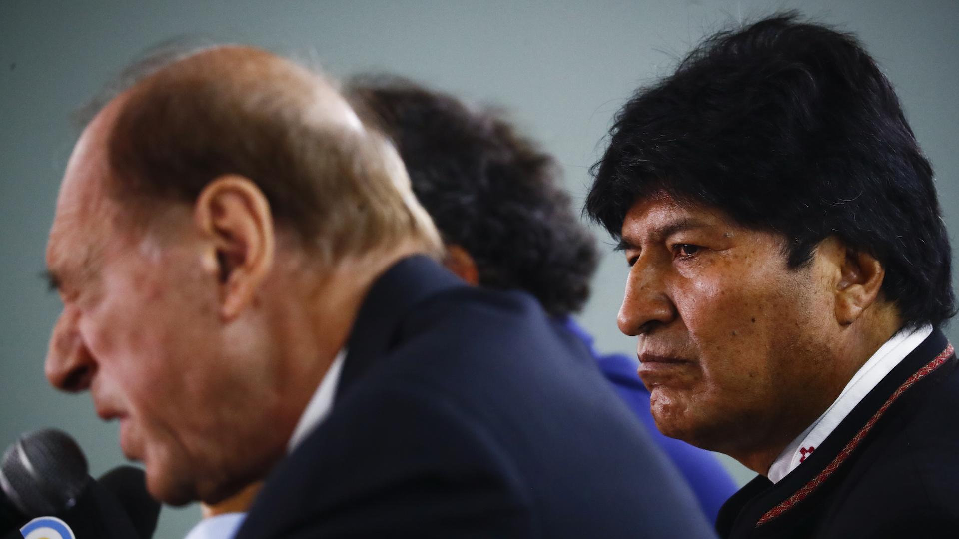 Exjuez de Corte Suprema argentina asume defensa de Evo Morales