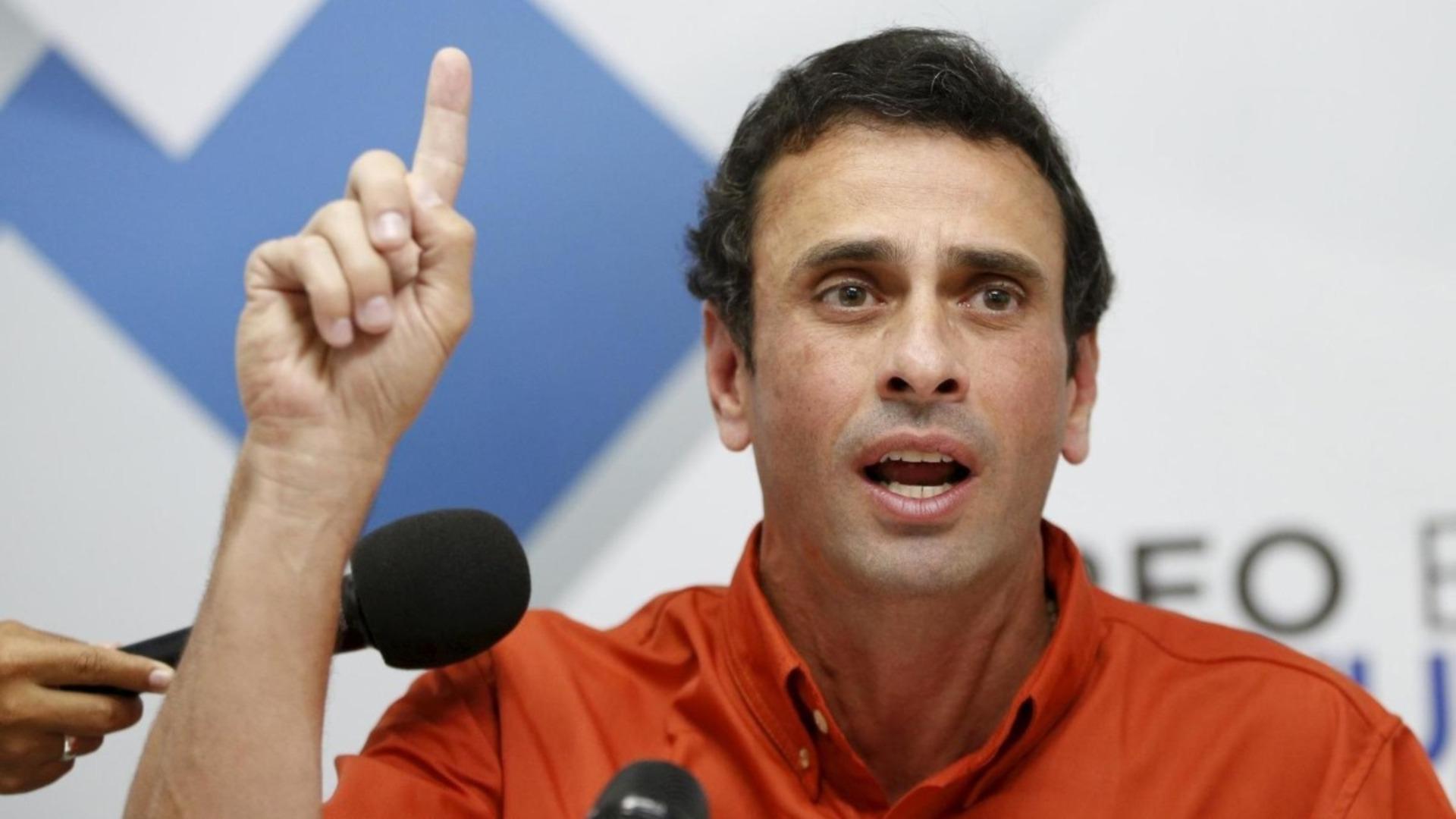 La sugerencia de Capriles para ir a elecciones y debilitar a Maduro