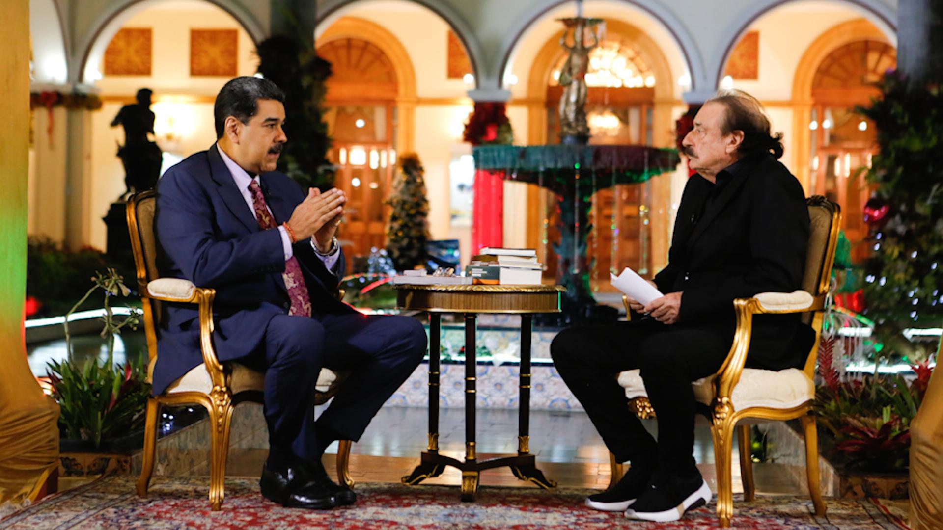 Las perlas que soltó Maduro en la entrevista con Ignacio Ramonet