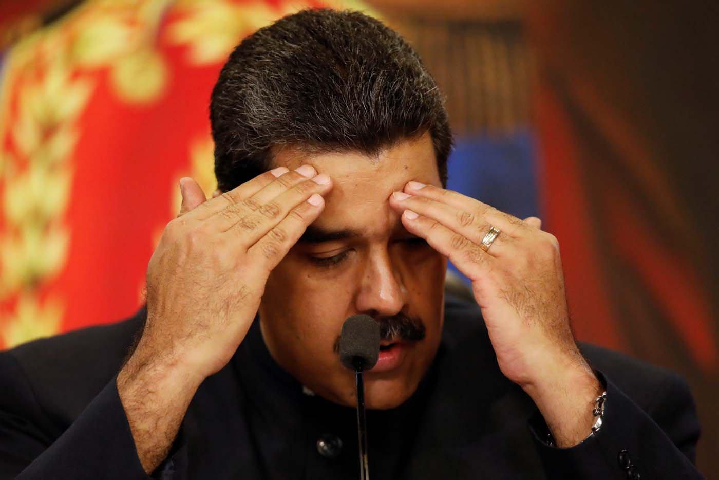 Maduro declara a Pdvsa en emergencia y puso a El Aissami al frente de la estatal petrolera