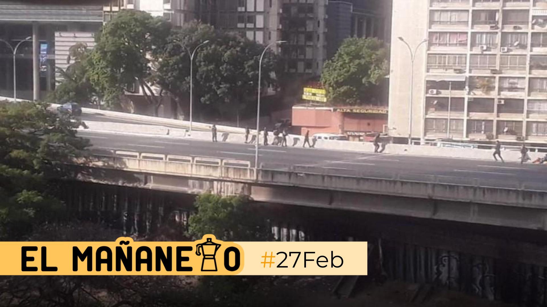 El Mañanero de hoy #27Feb: Las 8 noticias que debes saber