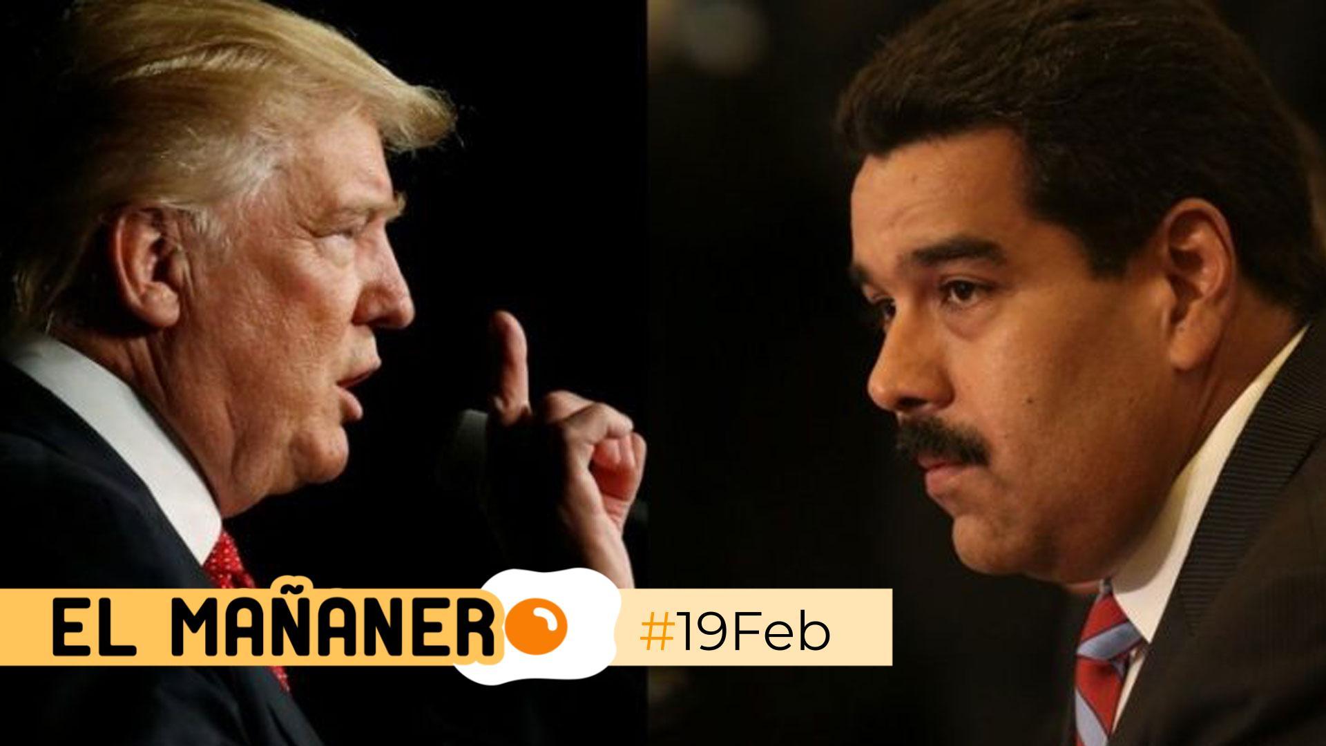 El Mañanero de hoy #19Feb: Las 8 noticias que debes saber