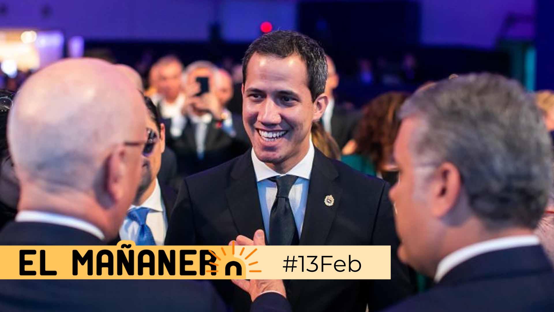 El Mañanero de hoy #13Feb: Las 8 noticias que debes saber