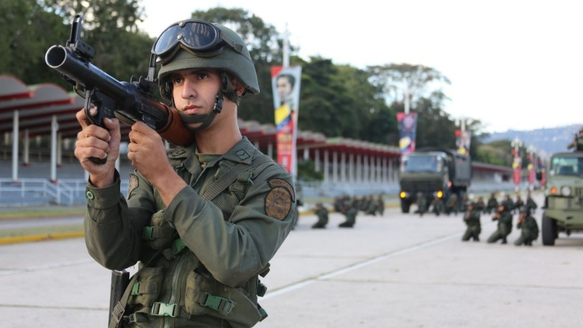 Caracas militarizada por ejercicios militares anunciados por Maduro