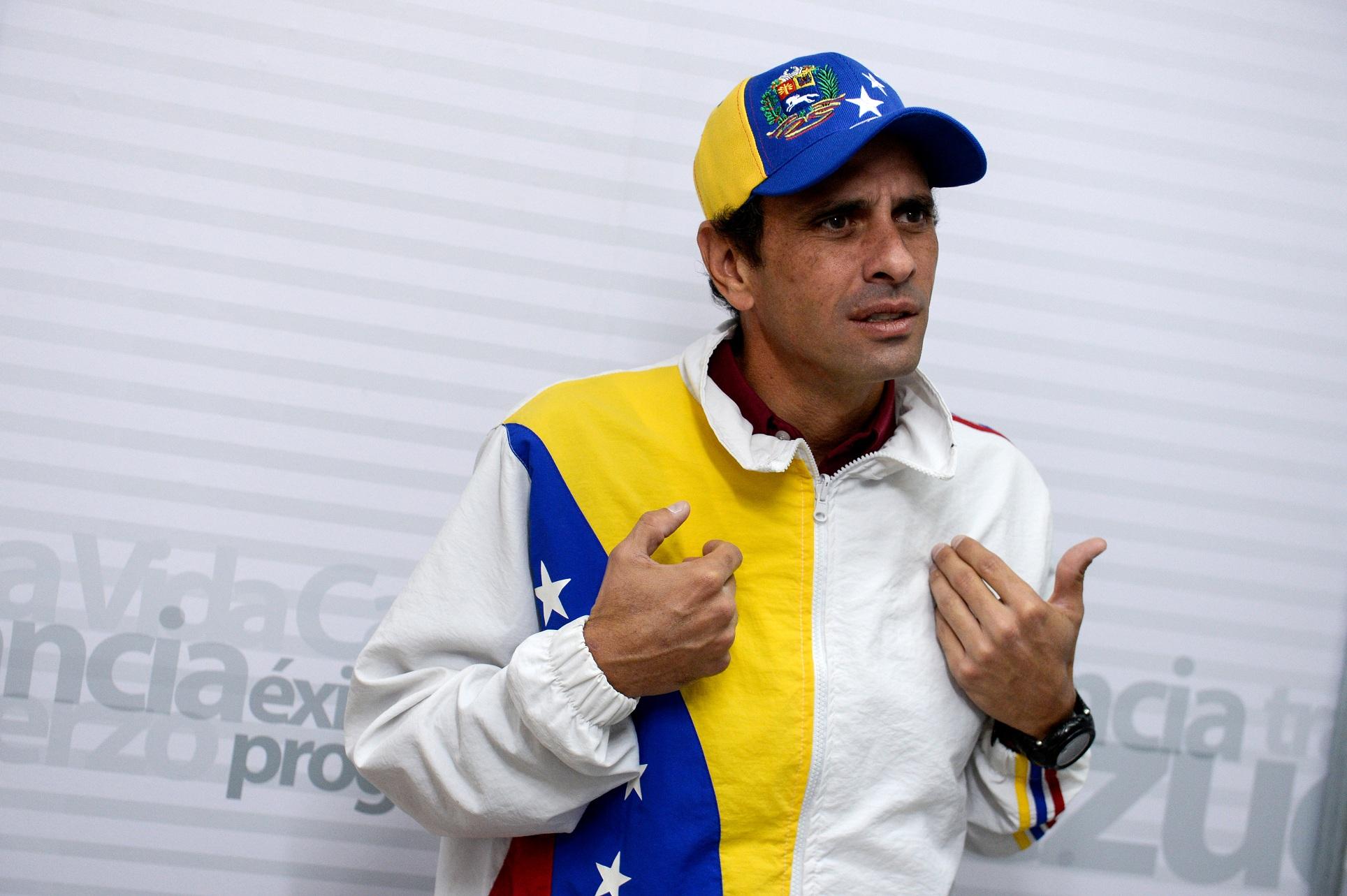Capriles pide acuerdo entre chavismo y oposición
