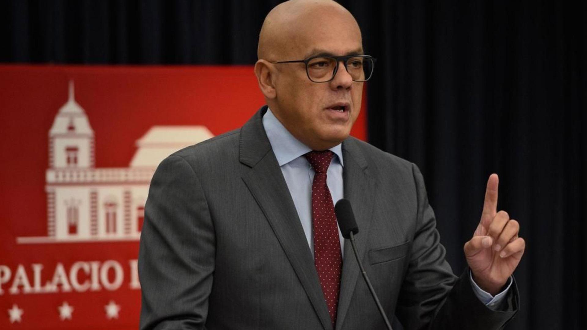Jorge Rodríguez: Complot contra Venezuela fue ordenado por el despacho de Trump
