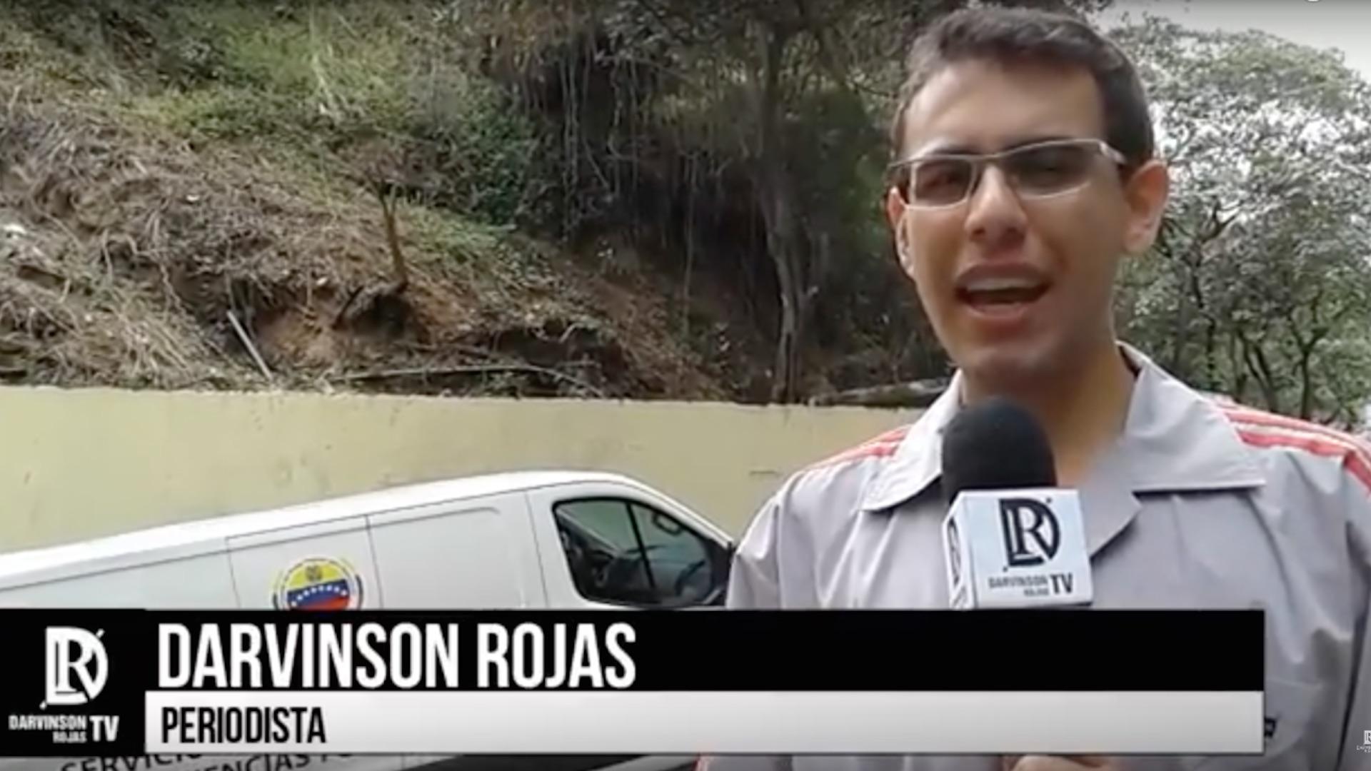 Monitor de Víctimas rechaza detención arbitraria del periodista Darvinson Rojas