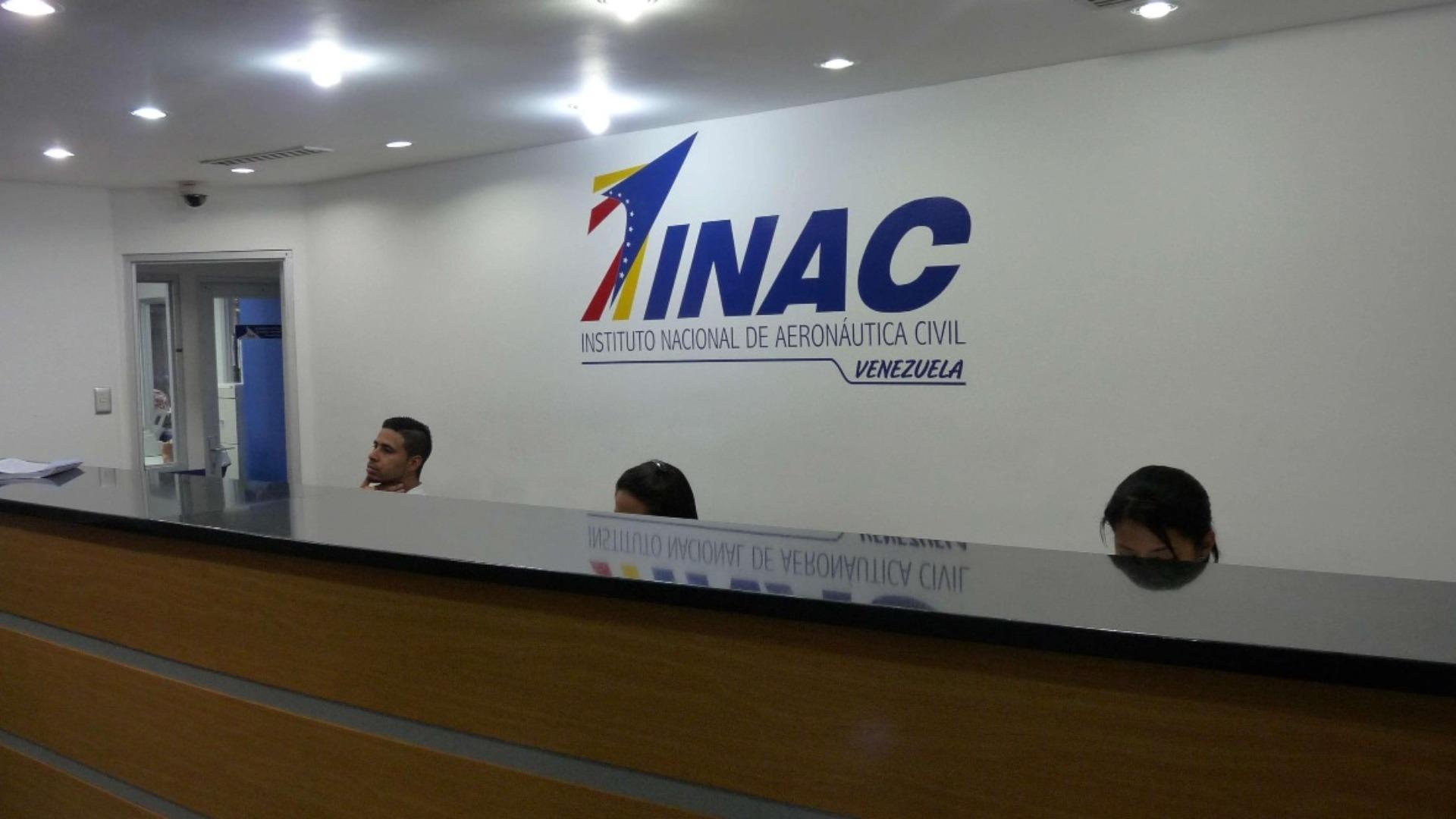 INAC suspende todos los vuelos comerciales y privados