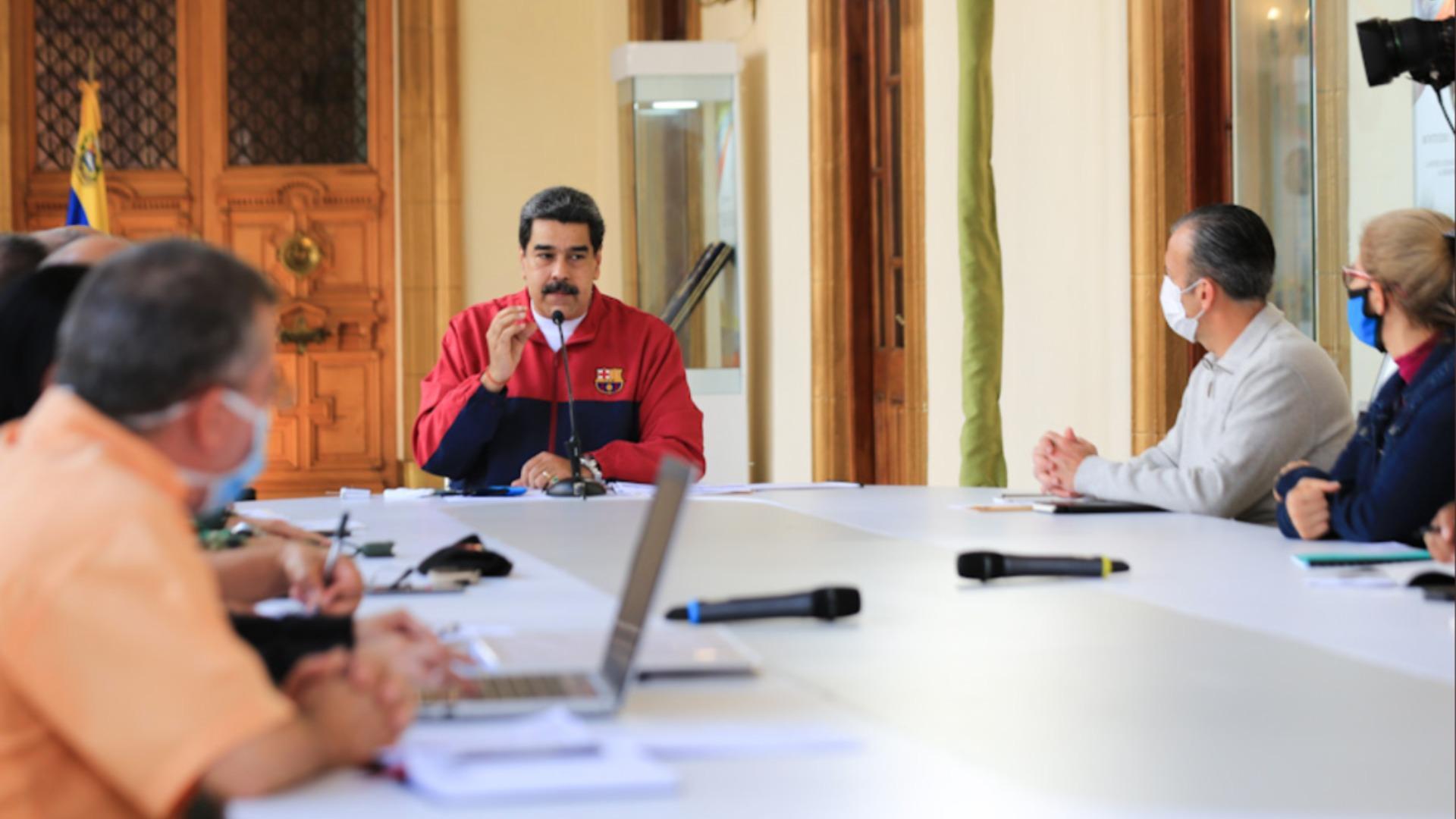 Maduro reconoce casos de Covid-19 por transmisión comunitaria