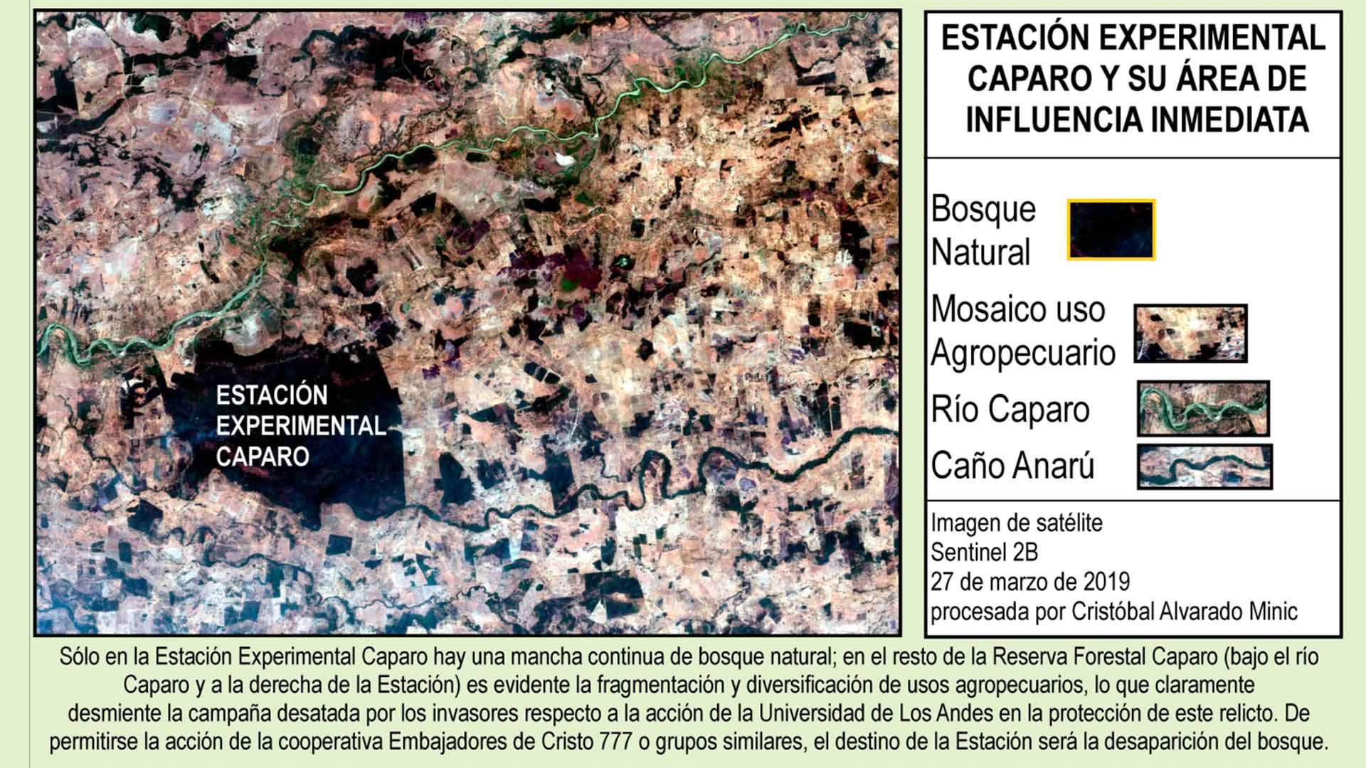 Area de influencia de la reserva forestal caparo