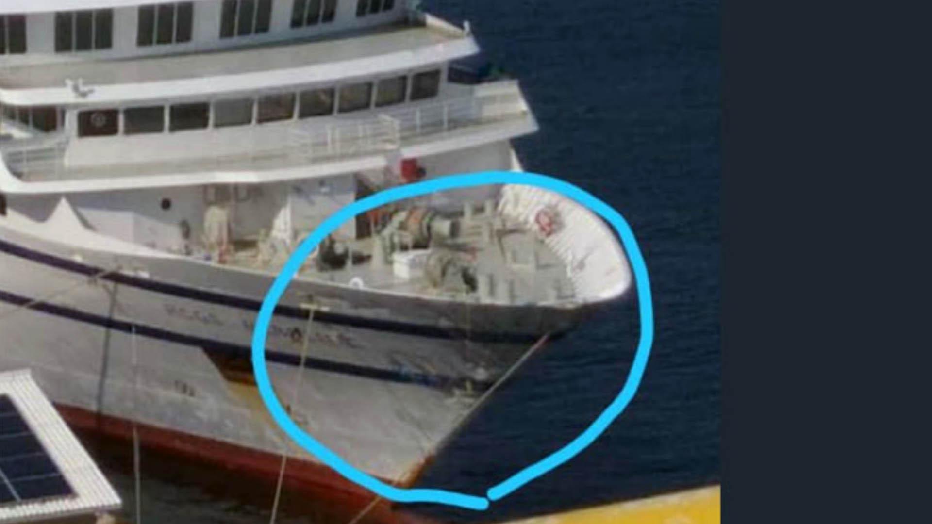 Runrunes de Bocaranda, el barco con la imagen de proa