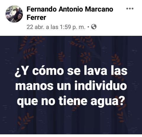 Conas detuvo en Margarita a un profesor que publicó en Facebook mensajes contra el gobierno 2