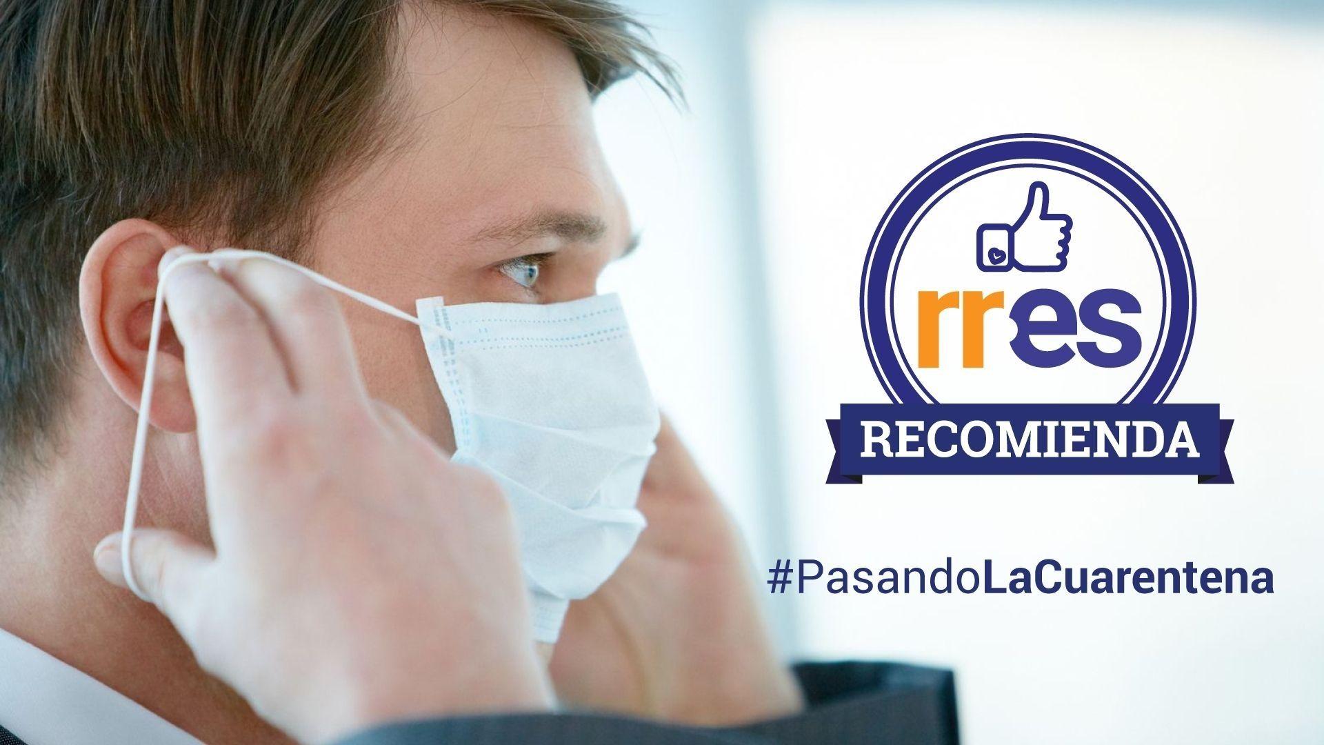 #PasandoLaCuarentena | Ejercicios físicos y fisioterapia respiratoria para afectados por COVID-19