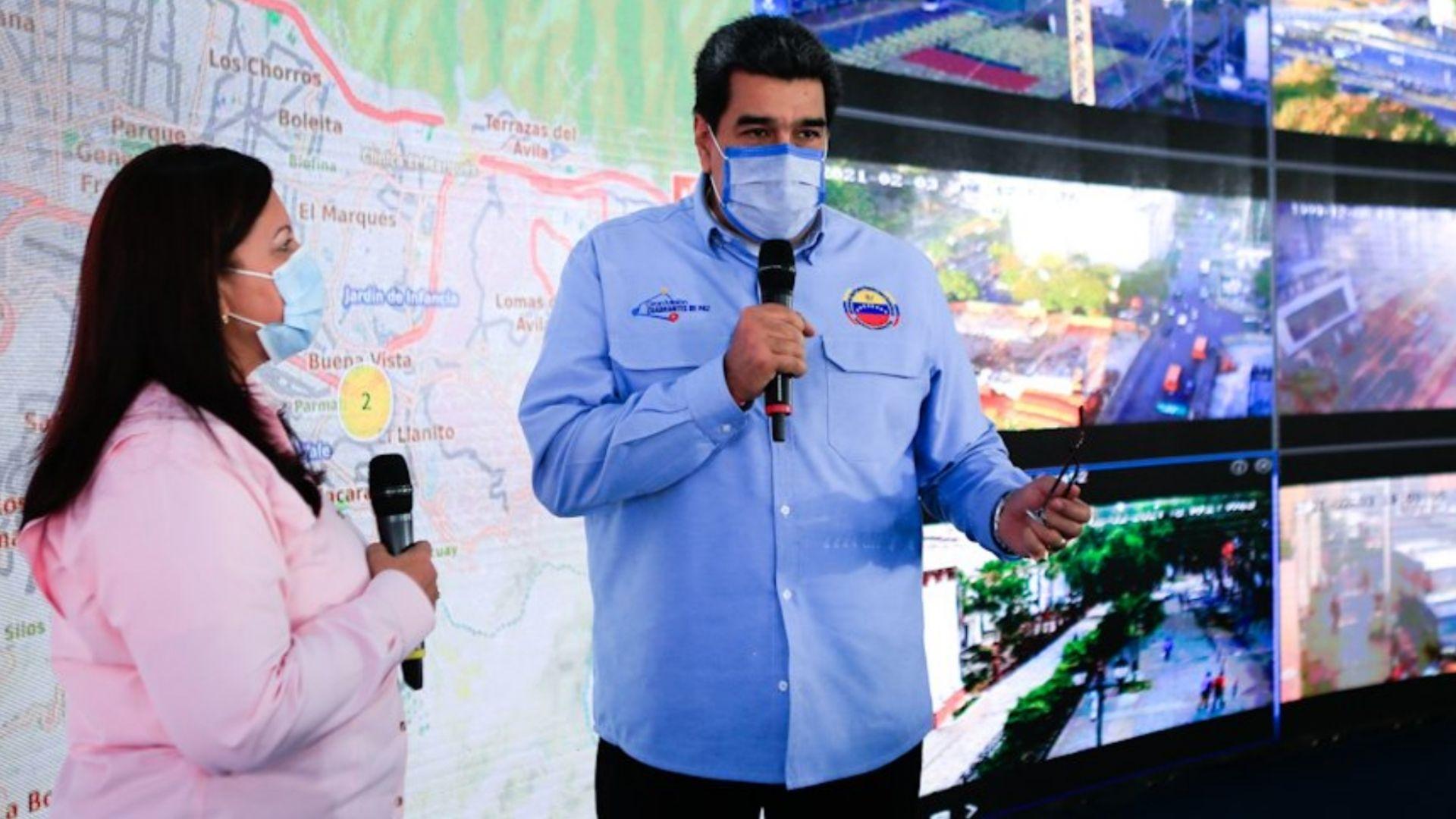 Maduro acusó a Leopoldo López y a Colombia de los hechos violentos en la Cota 905
