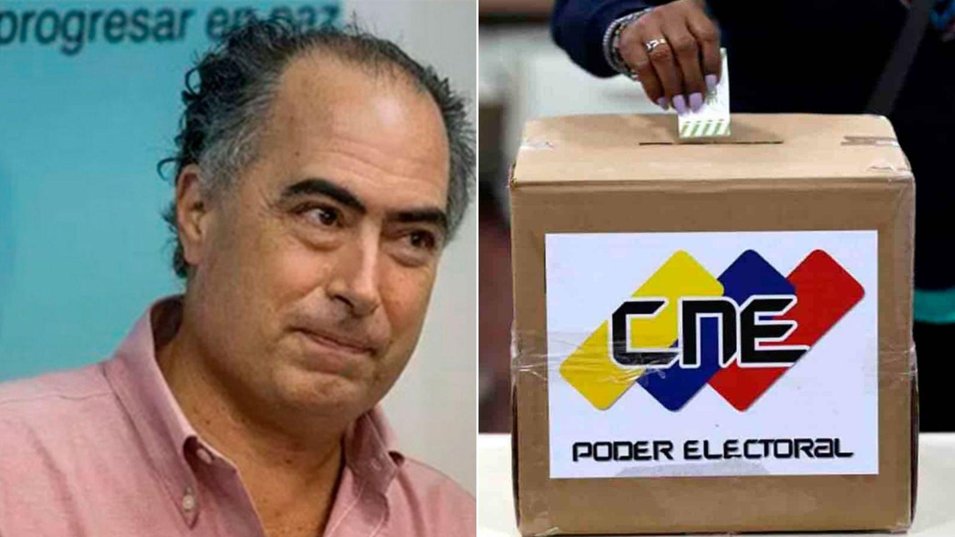 """Roberto Picón tras aceptar postularse al CNE: """"La peor lucha es la que no se da"""""""