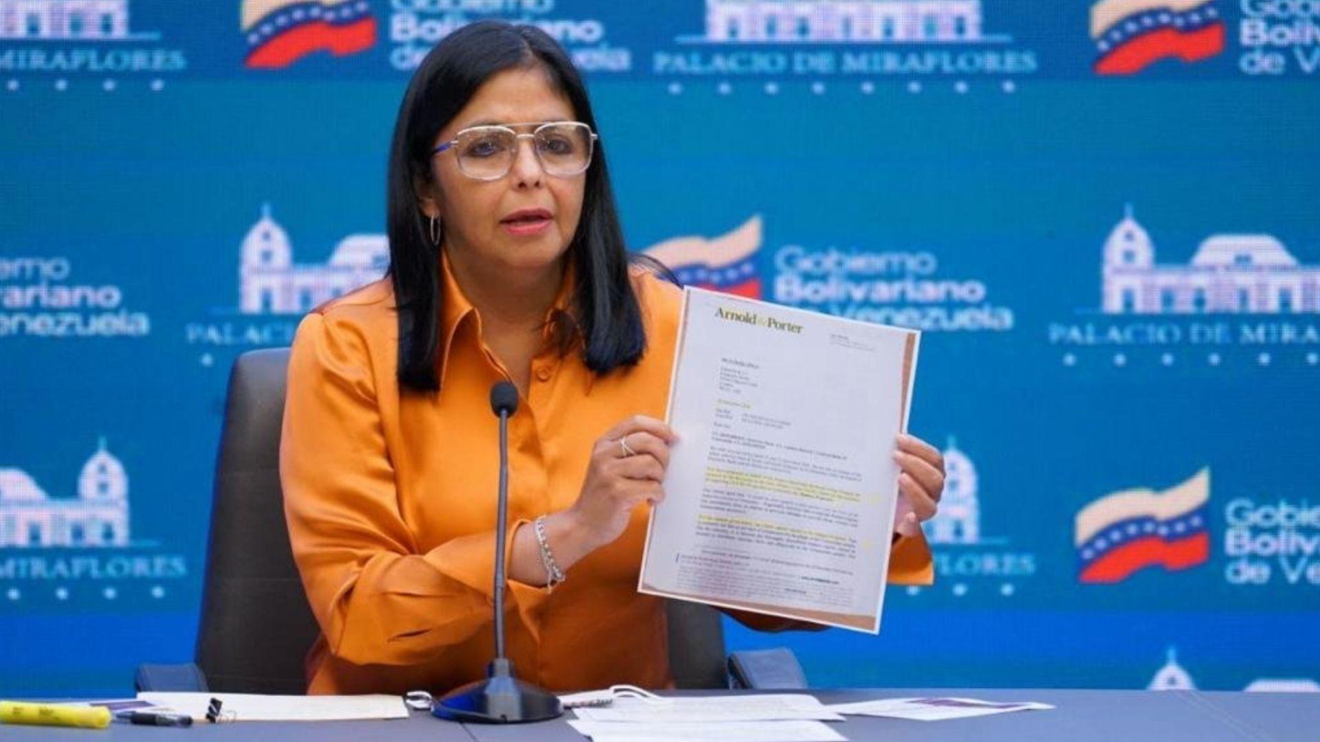 Delcy Rodríguez anuncia el pago de más del 50% para acceder al COVAX