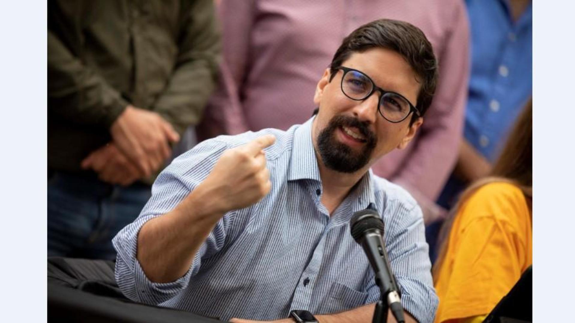 MP acusa a Freddy Guevara de vínculos con paramilitares, terrorismo y traición a la patria