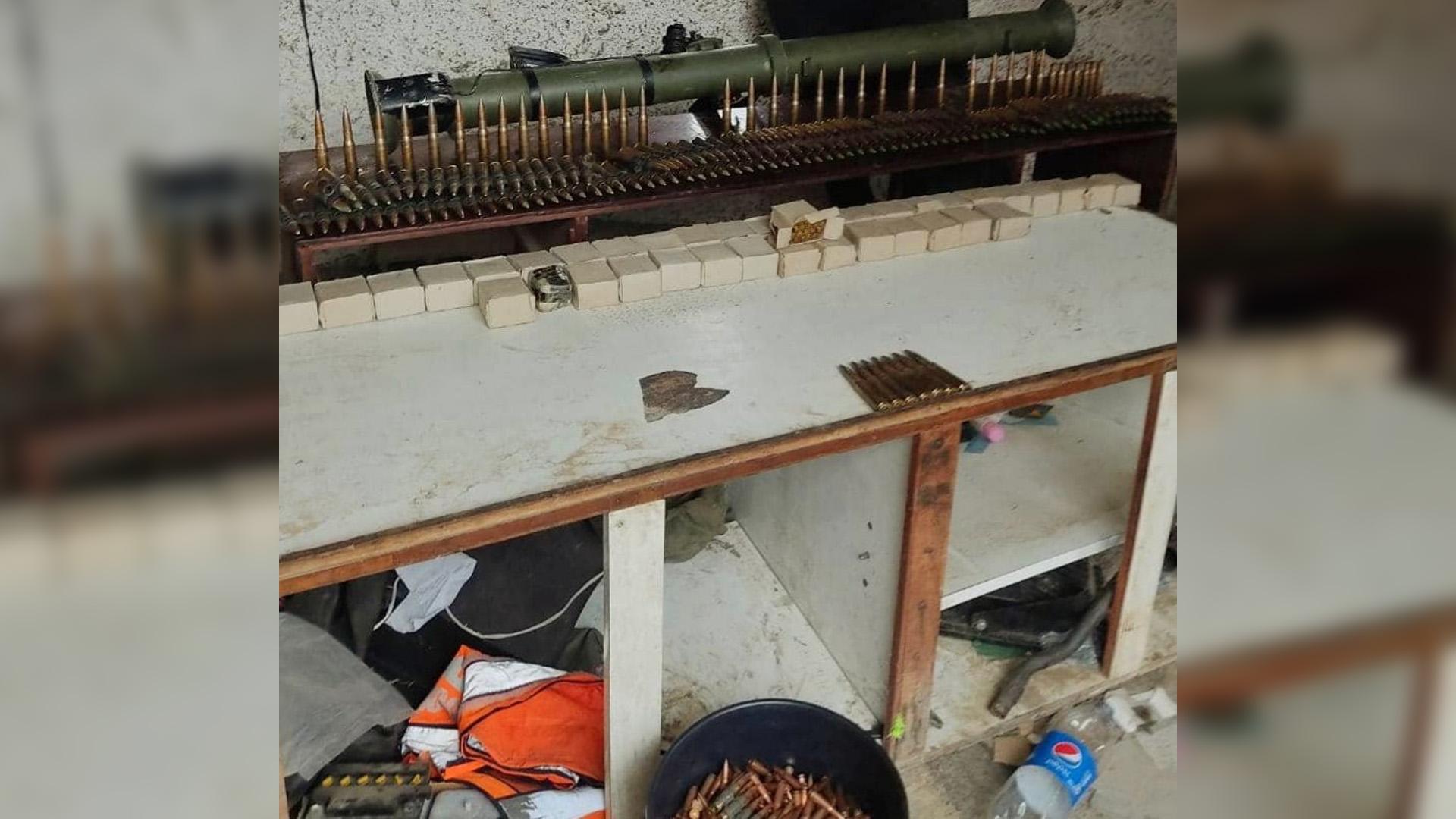 En la Cota 905 encontraron armas, municiones, pero a ningún miembro de la banda