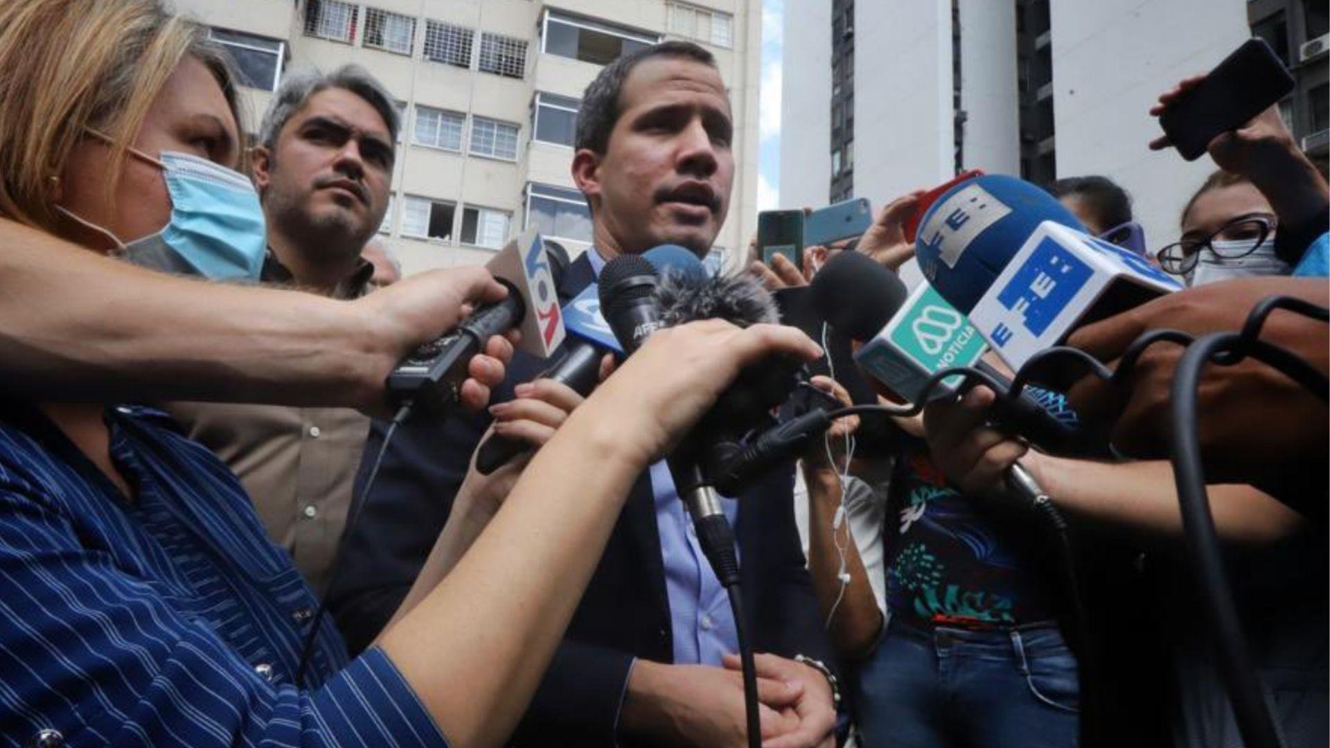 Juan Guaidó: Nos amenazaron con armas de fuego, de guerra
